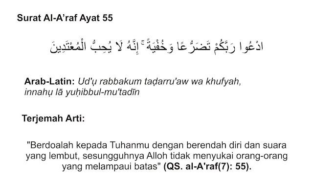 Adab-Adab Berdoa