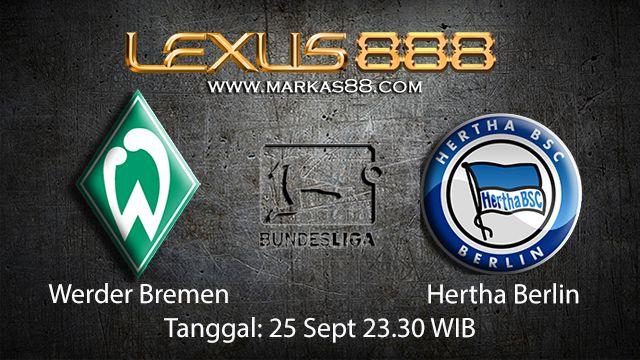 Prediksi Bola Jitu Werder Bremen vs Hertha Berlin 25 September 2018 ( German Bundesliga )