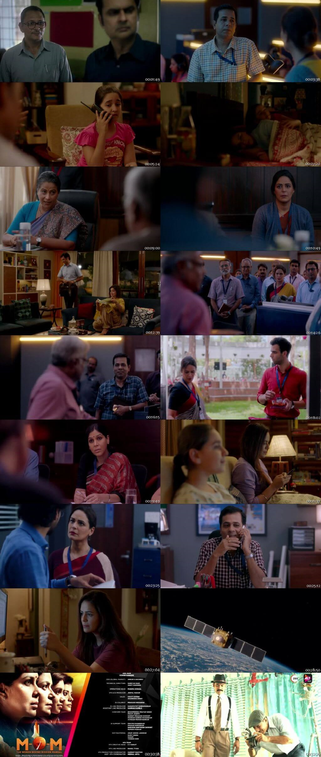 Screenshots Of Hindi Show Mission Over Mars Season 01 2019 Complete - All Episodes 300MB 720P HD