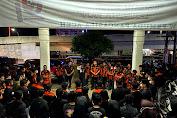 SAPMA PP Aceh bagikan ratusan Nasi Sahur dan masker Kepada Masyarakat