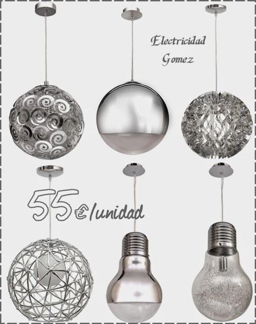 lamparas-modernas-cromadas