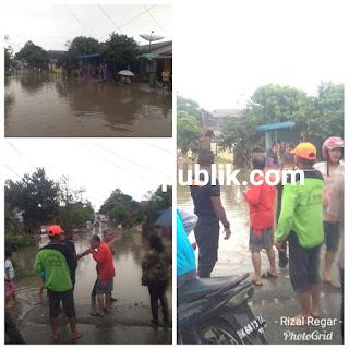 Tolong! Banjir Setinggi Lutut Orang Dewasa Dalam Rumah