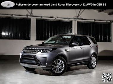 Armored B6 level protection 5th Land Rover Discovery 3.0L TD AWD