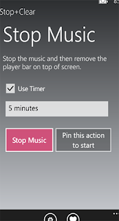 stop+claear windows phone