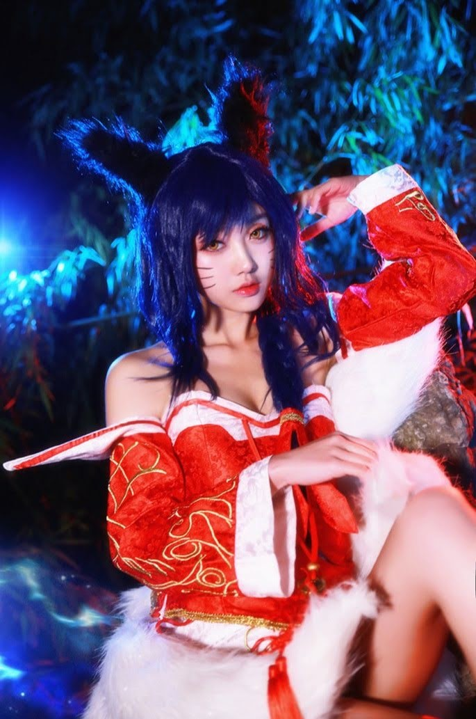 Cosplay Ahri - League of Legends P3