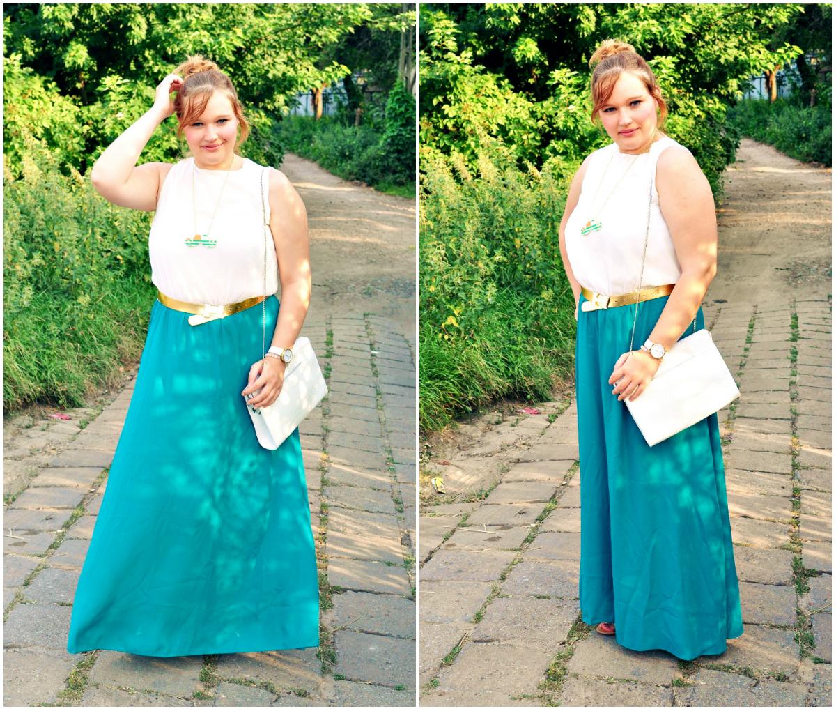 Długa Sukienka Na Lato Kasia Koniakowska Blog