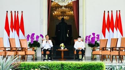 Momen Jokowi Umumkan 6 Menteri Baru di Gedung Negara. 4169 Daftar Perdana Menteri M Kabinet Jokowi, Siapa yang Dirombak?