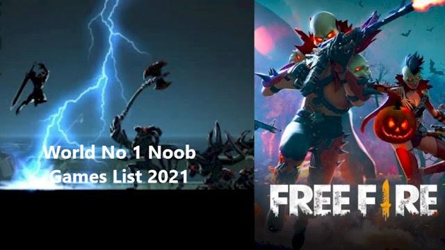 Top Addictive World No 1 Noob Games List 2021