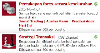 Posting di Forum InstaForex dibayar hingga $500 per minggu - Indo MT5