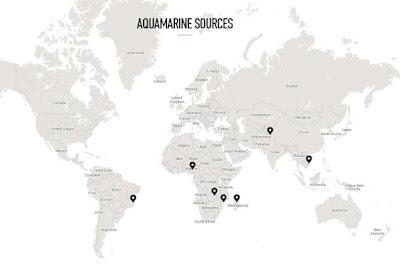 mapa depositos de  aguamarina