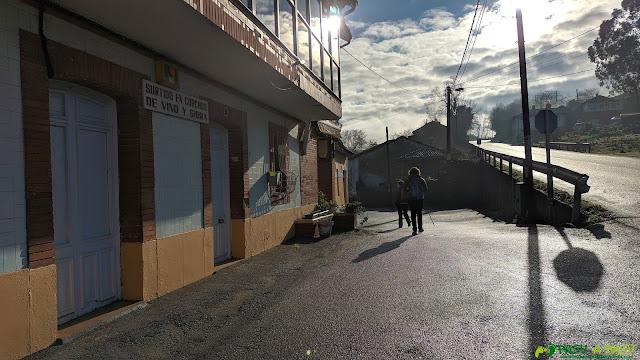 Desvío en El Caldero por la Ruta de las Peregrinaciones