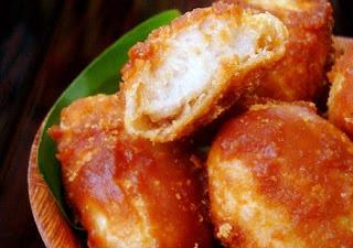 jajan tradisional kue gemblong aren enak