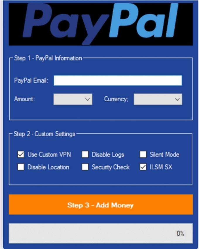 Paypal Money Adder 2020 (100% Working)