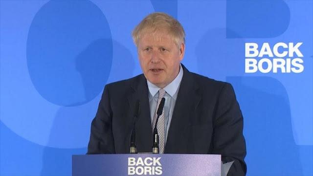 Boris Johnson promete salida de la UE en octubre, con o sin pacto