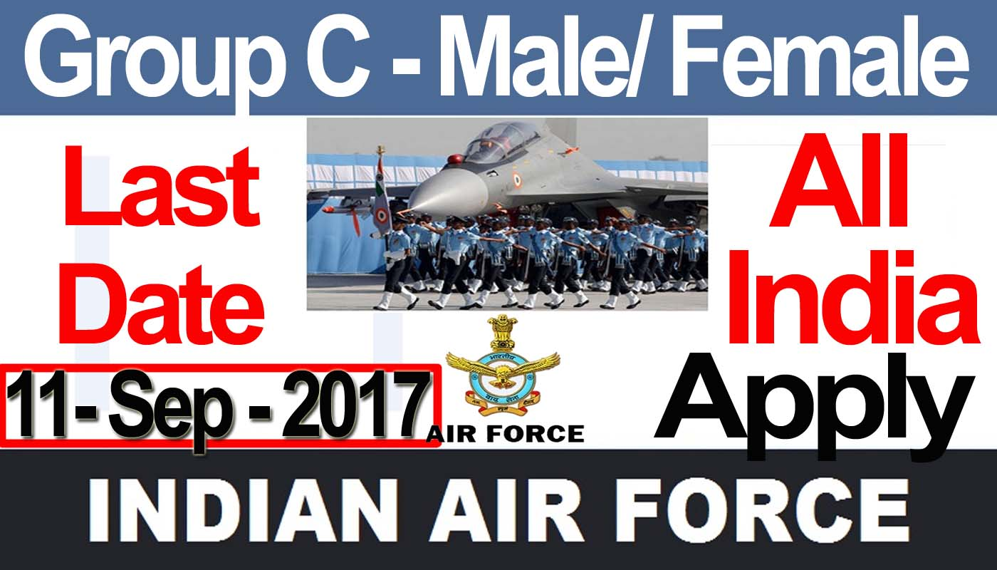 Latest govt job indian air force recruitment 2017 group c male female samajayakya in air force vacancy out hq new delhi vacancy air craft