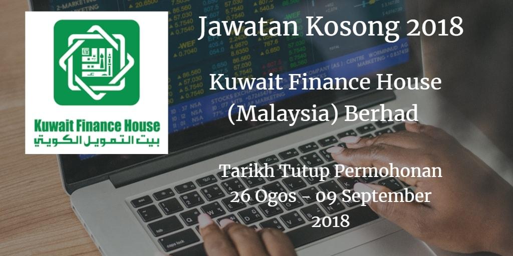 Jawatan Kosong KFH  26 Ogos - 09 September 2018
