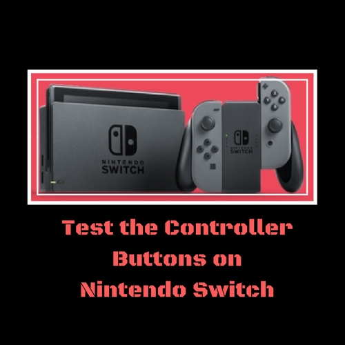 How To Test The Controller Buttons On Nintendo Switch