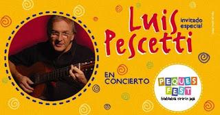 CONCIERTO DE LUIS PESCETTI