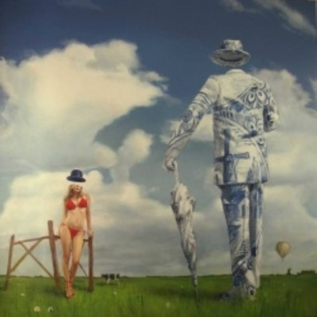 Сюрреалистические картины. Jeroen Buitenman