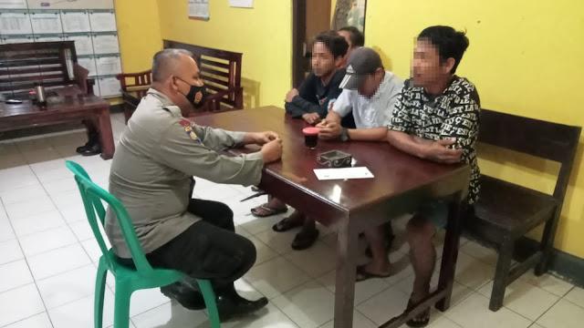 Empat Pemuda Digelandang Polsek Karangmoncol Akibat Pesta Miras