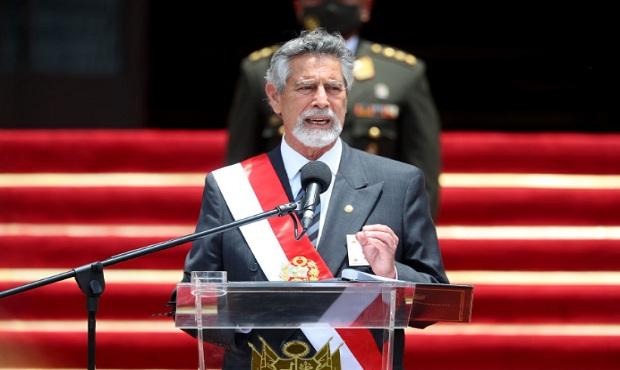 Presidente Sagasti: Policía Nacional estará en la marcha debidamente identificada