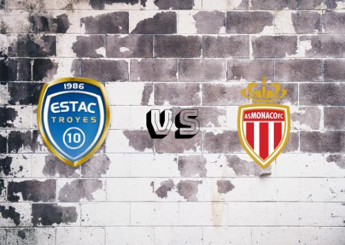Troyes vs AS Mónaco  Resumen