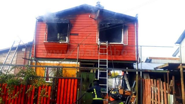 Incendio Rahue Alto Osorno
