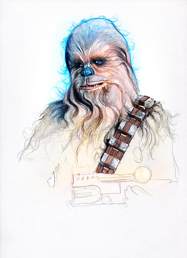 15-Peter-Mayhew-Chewbacca-Corbyn-S-Kern-Game-of-Thrones-Star-Trek-and-Star-Wars-Character-Drawings-www-designstack-co