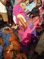 नालंदा जिला में बदमाशों द्वारा एक केवट की मौत की घटना के बाद परिजनों में बना हुआ है दहशत एंव भय