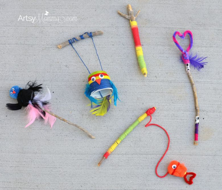 stick craft nature crafts for kids