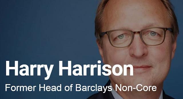 harry harrison financial expert head barclays bank