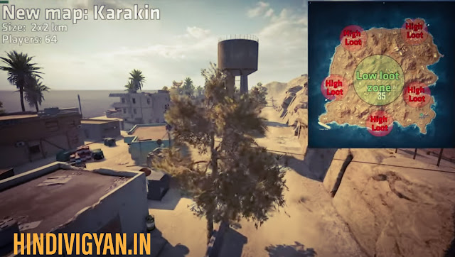 New Karakin PUBG map