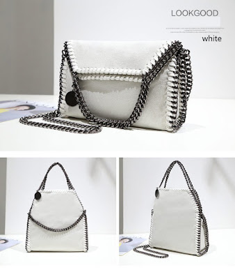 2017 New Women Messenger Chain Crossbody Shoulder Bag