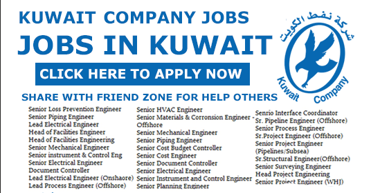 Jobs In Kuwait Oil Company