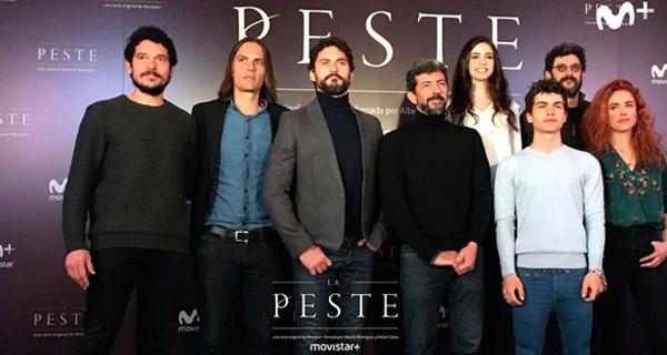 "Reparto serie ""La Peste"" de Alberto Rodríguez"