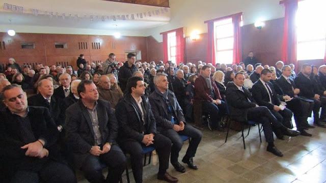"""Θεσπρωτία: Άρωμα Θεσπρωτίας είχε η εκδήλωση της """"ΟΜΟΝΟΙΑΣ"""" στη Δερβιτσάνη"""