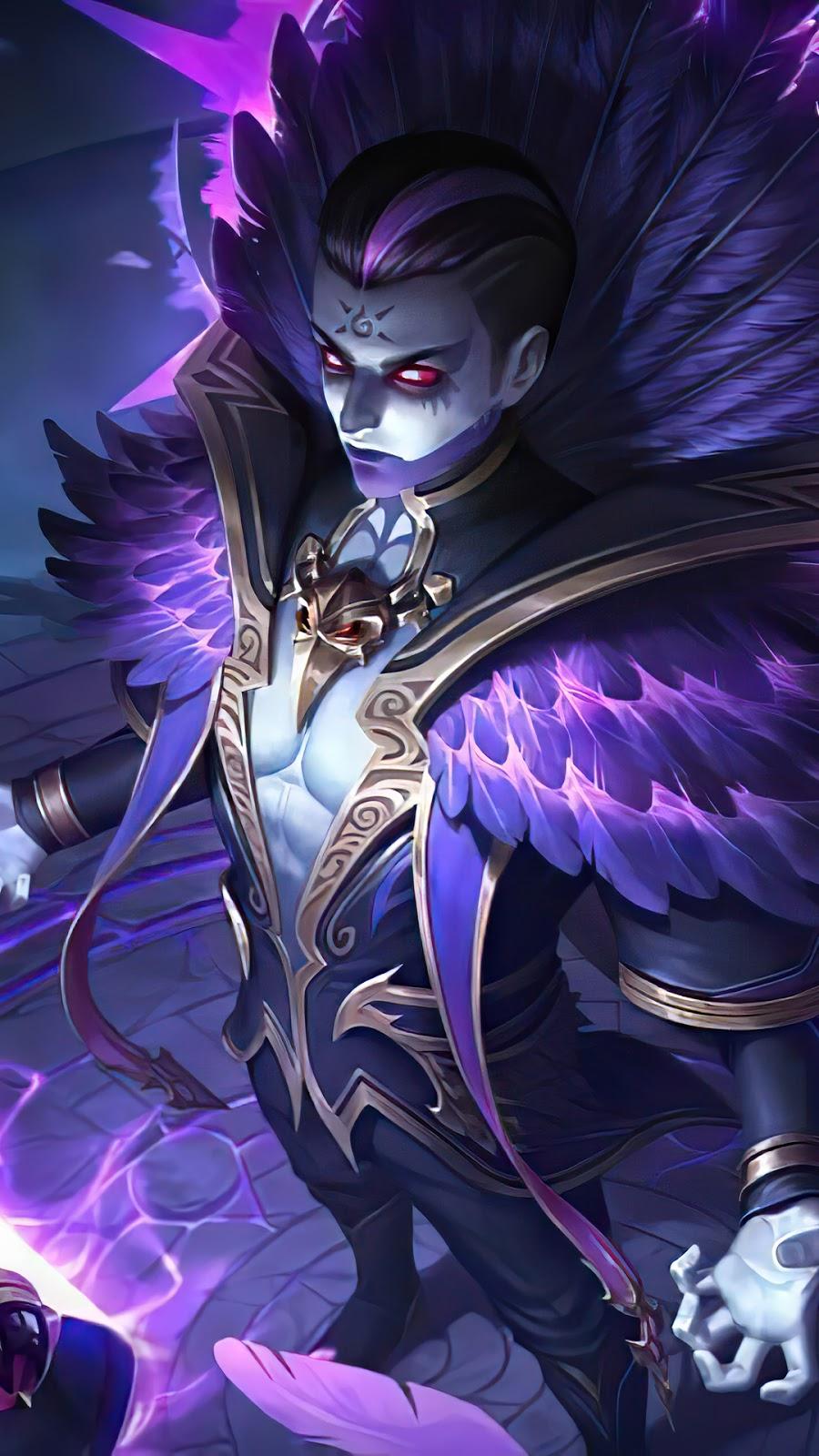 Wallpaper Estes Crow Bishop Skin Mobile Legends HD for Mobile