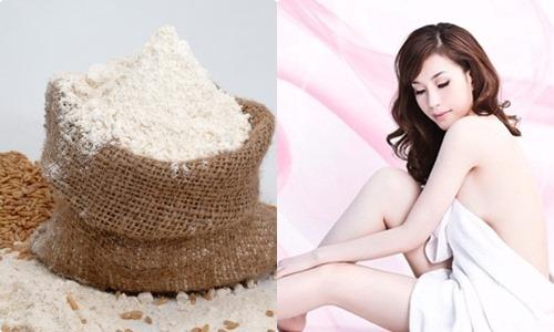 Tắm trắng bằng cám gạo cho làn da trắng mịn tự nhiên
