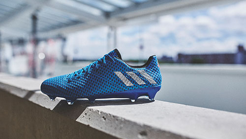 New-Speed-Adidas-Messi-16.1-with-Shock-Blue-Part-of-Light-Boots-1