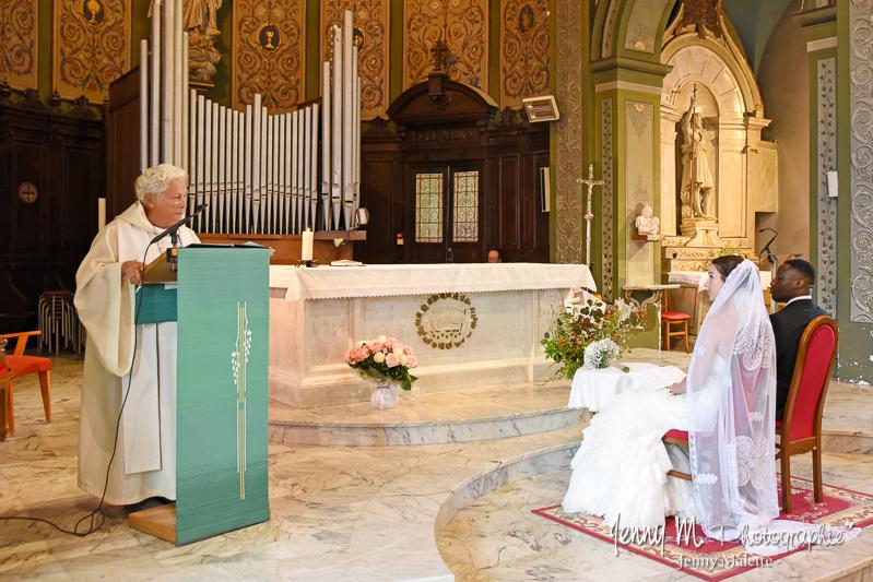 reportage photo cérémonie religieuse mariage vendée 85