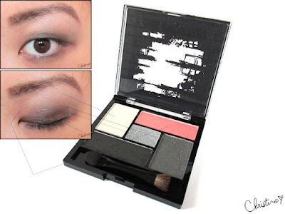 Makeup by One Direction Collection Review Eyeshadow