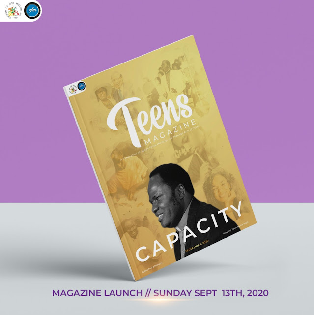 Agape Force Ministry releases September Edition of their Teens magazine.