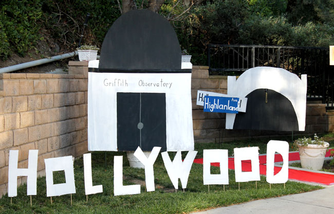 How to create landmarks for a true Hollywood experience oscars party