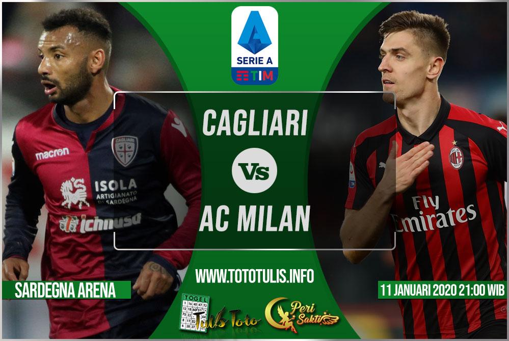 Prediksi Cagliari vs AC Milan 11 Januari 2020