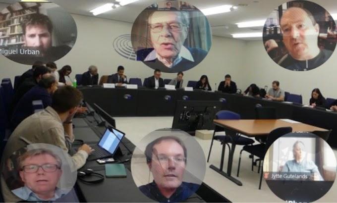 مجموعة السلام للشعب الصحراوي بالبرلمان الأوروبي تعقد إجتماعا إستثنائيا لتدارس خارطة عمل على مستوى المؤسسات الأوروبية.