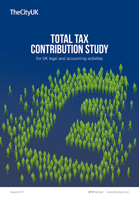 Total Tax Contribution Study for UK legal and accounting activities