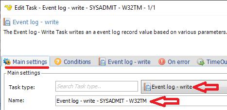 VisualCron: Tarea basada en evento