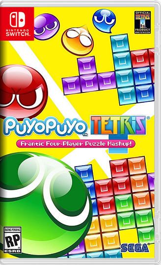 Puyo Puyo Tetris NSP Switch