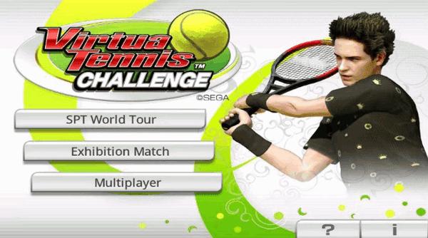 Virtual Tennis Challenge