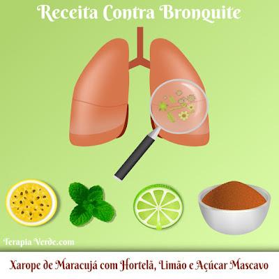 Receita Contra Bronquite: Xarope de Maracujá com Hortelã, Limão e Açúcar Mascavo